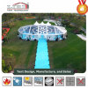 Outdoor Transparent PVC Cover Aluminum Frame Mixed Tent with Multi-Side Ends for Events