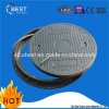 ODM B125 En124 SMC Round Composite Construction Used Manhole Cover