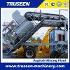 Mobile Hot Mix Asphalt Batching Plant Construction Machine for Sale