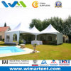5mx5m Aluminum Structure PVC Spring Top Tent Set up on Swimming Pool