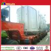 100/120/150/200ton Heavy Duty Low Bed Hydraulic Modular Trailer