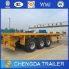 Utility Truck Trailer 40FT Gooseneck Flatbed Container Trailer