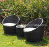 All-Weather Wicker 3-Piece Patio PE Rattan Furniture (kr-604)