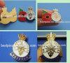 Enamel Lapel Badge with Poppy Flower Design Badge