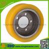 Fork-Lift Truck Drive Wheels with Polyurethane Tread