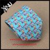 Handmade Custom Printed Elephant Tie Silk for Men