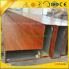 Wooden Grain Aluminium Tubes for Window and Door Decoration