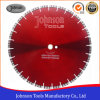 400mm Laser Diamond Cutting Saw Blade with Turbo Segment for General Purpose