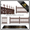 Outdoor Powder Coated Aluminum Decorative Garden Fence