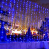 Ce RoHS Approved 110V/220V LED Wedding Curtain Christmas Lights