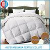 White Color 100 Cotton Double Soft Comforters 90% Goose Down