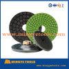 80mm-200mm Resin Boned Diamond Wet Buffing Polishing Pad