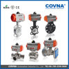 ANSI Standard Stainless Steel 3 PCS Pneumatic Ball Valve