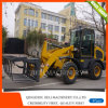 Multi-Function Mini Front End Wheel Loader with Hydraulic Grass Fork