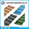 Building/Roofing Material Stone Coated Metal Roman Roofing Tile