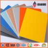 4mm Orange Yellow Printing Composite Panel Restaurant Shop Signboard