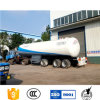 Bolivia Standard 3 Axles LPG Gas Tanker Trailer for Sale