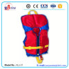 Red Color 100n Standard Child Life Jacket with Whistal