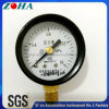 """2""""/50mm Bottom Connection Steel Case Brass Connector Manometer"""