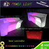 Bar Furniture PE Plastic Illuminated Color Changing LED Bar