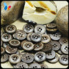 Round Four Holes Nature Coconut Sewing Button for Clothing