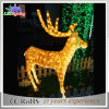 Customzied Acrylic Trendy Christmas Gifts 2015 LED Reindeer Light
