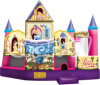 Inflatable Princess 5 in 1 Bouncer with Slide Basketball Climbing