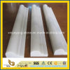 Polished Oriental White Marble Border for Indoor Decoration