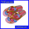 New Design Colorful Print PE Slippers for Lady (15I350)