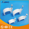 High Quality PC Material Round Cable Clip Flat Nail Cable Clips