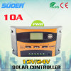Suoer 12V 24V 10A PWM Solar Charge Controller Solar Controller (ST-C1210)