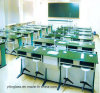 Tempered Color Printed School Glass Desk