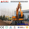 12 Ton Hydraulic Wheel Excavator with 0.45cbm Bucket for Sale