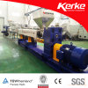 Single Screw Recycled PVC Granules Making Extrusion Machine Line