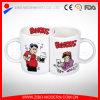 11oz Personalized Porcelain White Sublimation Valentine′s Day Mug
