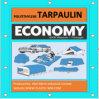 Economy 8X8 Weave 5X8m Polyethylene Tarpaulin by Well Merit