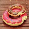 Inflatable Donut, Pool Floats, Pool Flamingos Dounut Swimming Ring