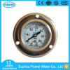 "1.5""40mm Half Stainless Steel Kpa Liquid Filled Pressure Gauge with Flange"