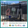 Black Welded Wire Fence Mesh Panel /Metal Picket Welded Fence