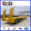 3 Axle 60 Ton Low Bed Truck Trailer
