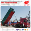 Construction Hydraulic Rear Tipping Cargo Dumper Trailer