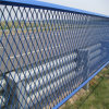 Blue Coated Expanded Metal Fence
