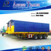 China Manufacturer 3 Axles Flatbed Container Tipper Semi Trailer