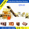 Automatic Soil Clay Block Making Machine Burned Red Brick Machine Price