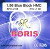 1.56 Single Vision Hmc UV420 Blue-Block 70/65mm Optical Lens