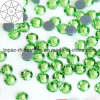 2018 Newest Best Selling Peridot Hot Fix Rhinestone Glass Crystal Copy Preciosa Stone (HF-ss20 peridot /5A grade)