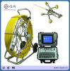 9mm 60m Cable Length Waterproof 50mm Pan Tilt Drain Sewer Pipe Inspection Camera with Wheeled Skids V8-3288PT-1