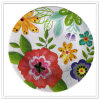 Flower Design Full Print Melamine Houseware Plate