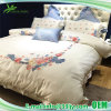 Embroidered Deluxe Cotton Satin Bedsheets
