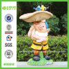 Environmental Friendly Food Water Storage with Gnome Figurine (NF83010)